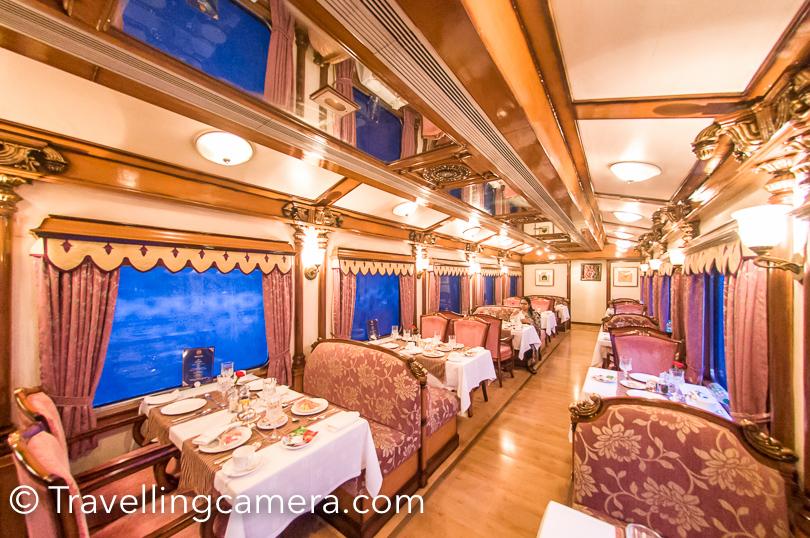 We had breakfast at around 8am in Ruchi Restaurant onboard the Golden Chariot.