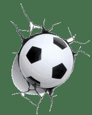 Bola de futebol - Decoração infantil fluminense