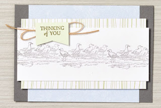 Thinking of You card is perfect for beginners