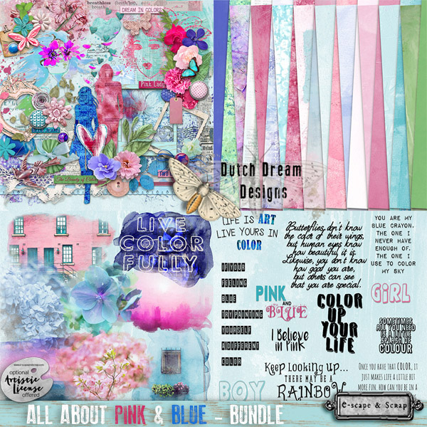 All About Pink & Blue Bundle