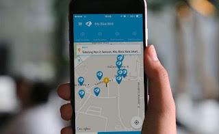 Pesan Taksi Online ?? Ya My Blue Bird aja