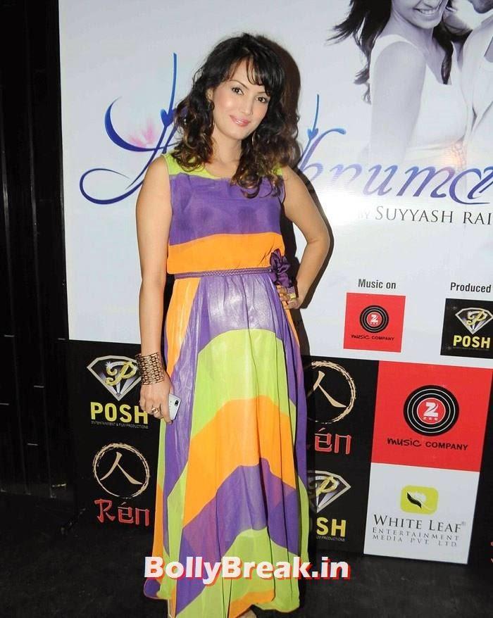 Nisha Rawal, 'Khushnuma' Album Launch Pics