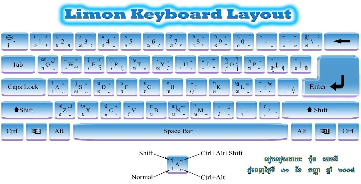 KHMER LIMON KEYBOARD LAYOUT PDF