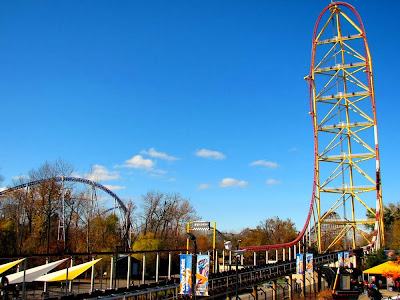 Montanha russa Top Thrill Dragster - Cedar Point - Sandusky - Ohio