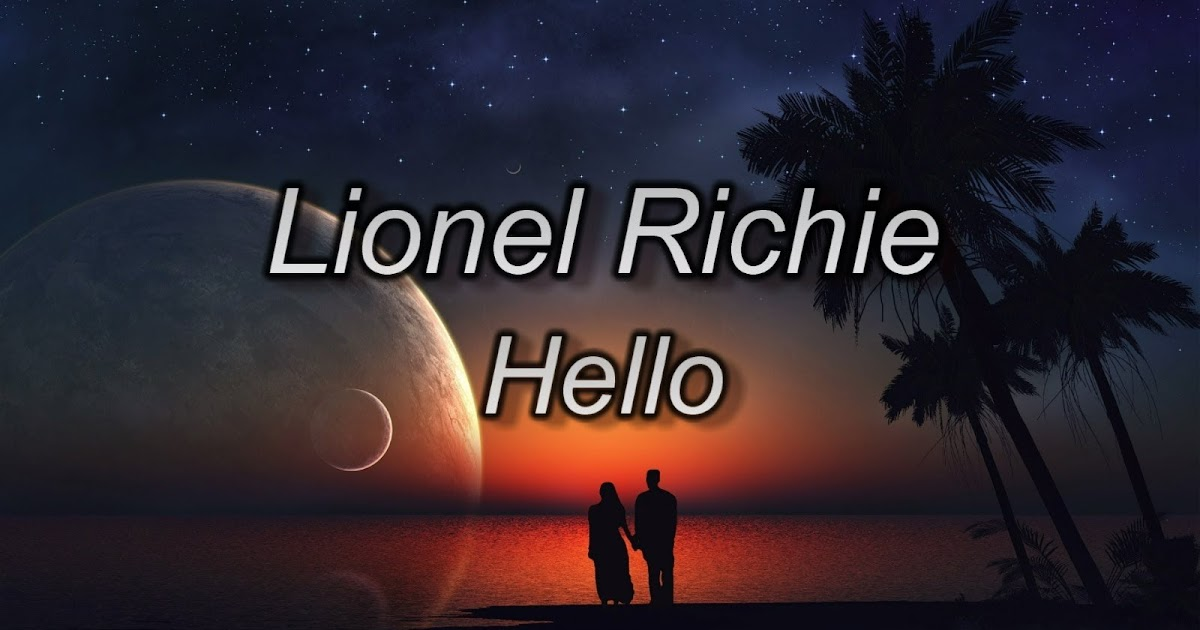 Hello Guitar Chords - Lionel Richie Can't Slow Down - TheDeepak.Com