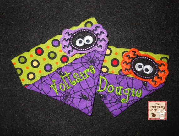 cute personalized halloween bandanas for dogs