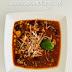 Zupa meksykańska z mielonym mięsem , cudownie rozgrzewająca i sycąca