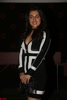 Ananya Soni in a Deep neck white blackl Dress at Shamanthakamani pre release function ~  Exclusive 069.JPG