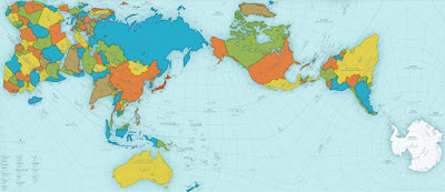 Authagraph worldmap