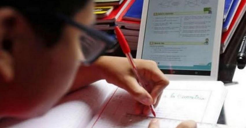 MINEDU: En mes y medio escolares recibirán tablets para educación a distancia