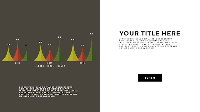 Free Infographic PowerPoint Template with Editable Data chart Slide 6