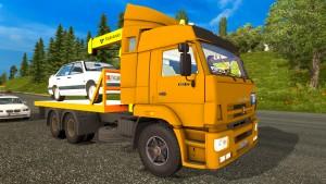 Kamaz 65117 truck