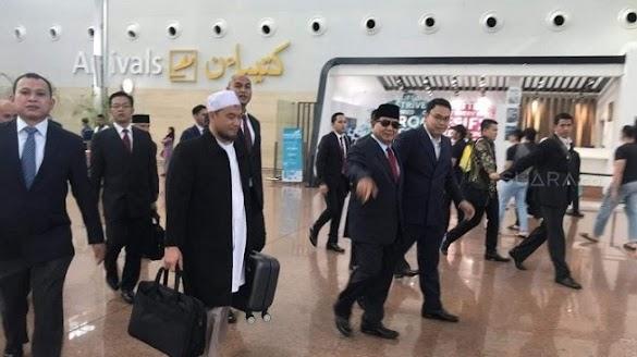Prabowo ke Luar Negeri Jelang Pengumuman KPU, Ada Apa?