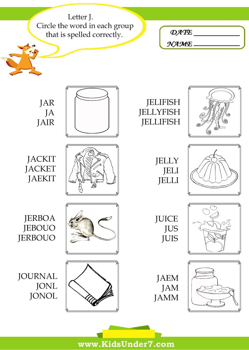 worksheet The Letter J Worksheets preschool letter j worksheets free library download and kids under 7 circle c rect spell g of
