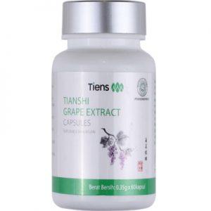 tianshi grape extract capsules, obat stroke tiens, herbal stroke