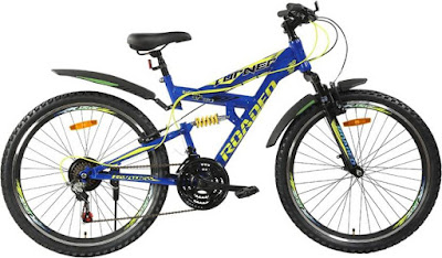 HERCULES Turner V 26 MS AzureBlue Hybrid Cycle