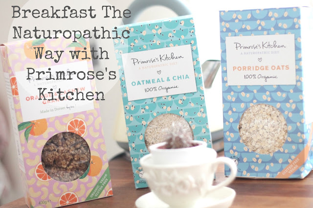 Breakfast The Naturopathic Way with Primrose's Kitchen blog review header image