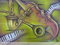 Timbre de los instrumentos. Actividad relacionada con la Pintura