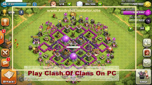 clash of clan pc emulator