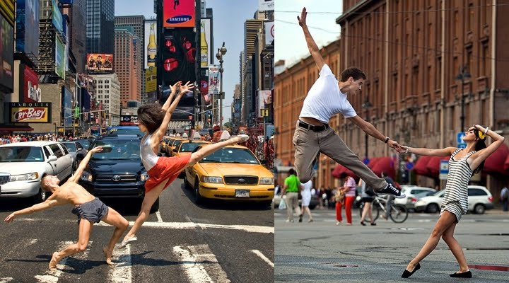 Never Miss A Chance Lo Sabes: Dancing In The Street