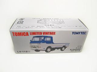 Tomica Limited Vintage LV-112c Mazda E2000 Low Floor / Toyo Kogyo(Mazda)