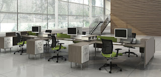 Open Concept Office Benching