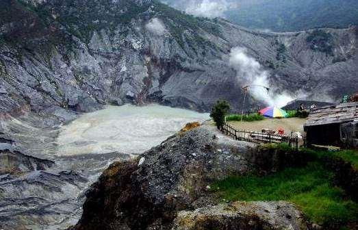 Gunung Tangkuban Perahu wisata alam bandung