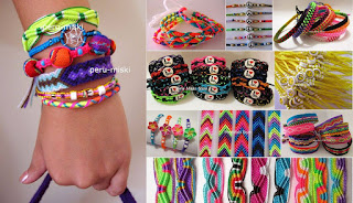 Friendship bracelets, lots x 1000