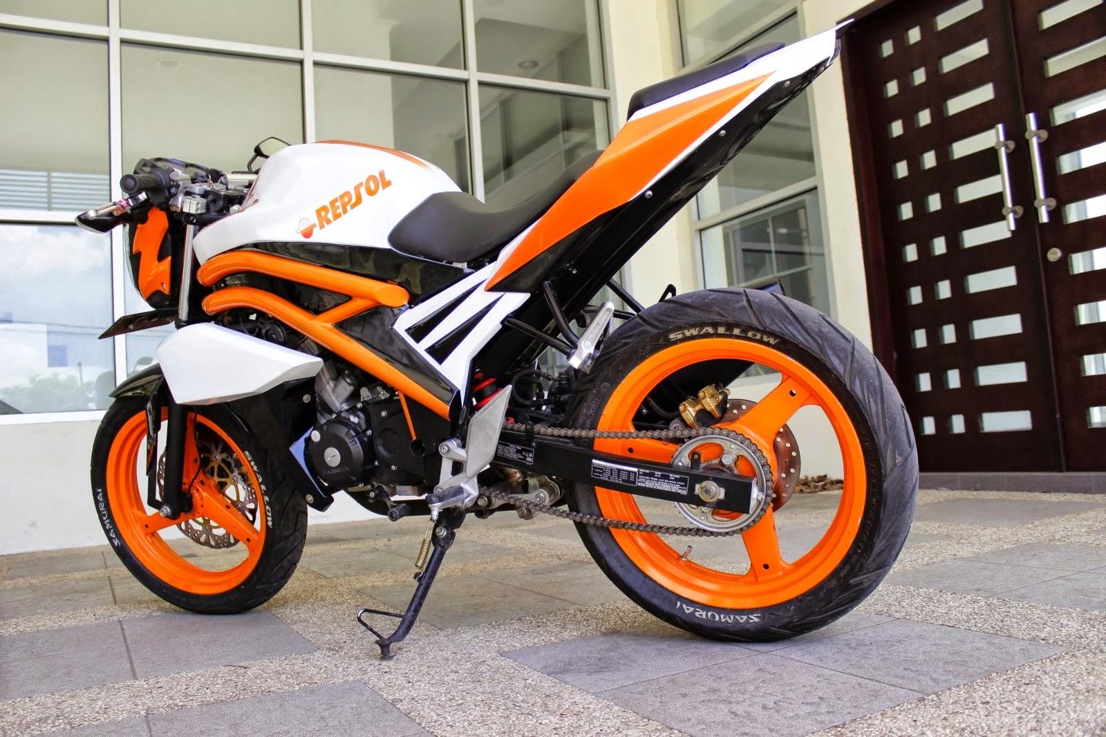 Koleksi Modifikasi Stang Motor Cb 150 R Terbaru Dan Terlengkap