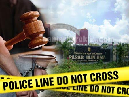 Kasus dugaan korupsi pengelolaan parkir Pasar Ulin Raya akhirnya memasuki babak baru.  Sepasang suami istri ditetapkan sebagai terdakwa dalam persidangan kasus dugaan korupsi parkir Pasar Ulin Raya Banjarbaru.