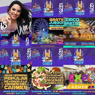 programa feria ciudad del carmen 2018