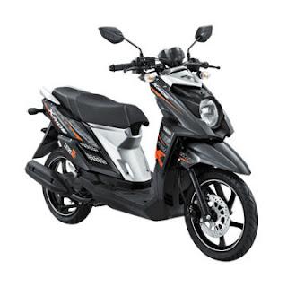 Dealer Motor Yamaha X-Ride Murah di Solo Hitam