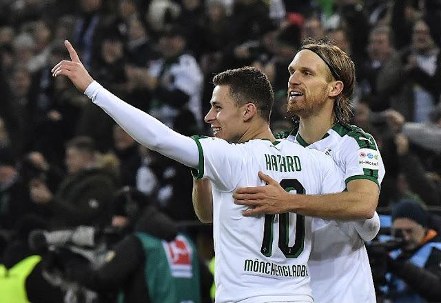Thorgan Hazard yakin timnya bisa meriah poin saat menghadapi tuan rumah RB Leipzig.