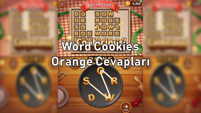 Word Cookies Orange Cevapları