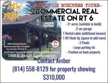 Commercial Real Estate, Sweden Valley, PA