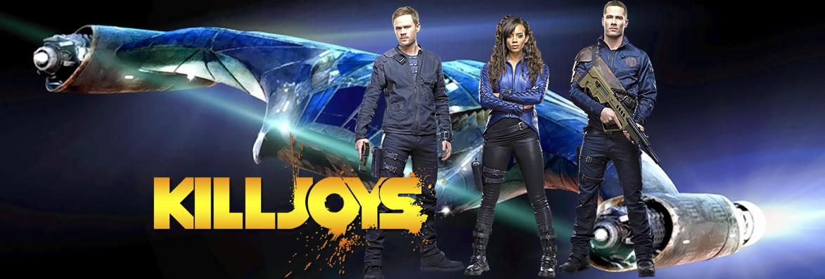 Killjoys 1ª, 2ª e 3ª Temporada