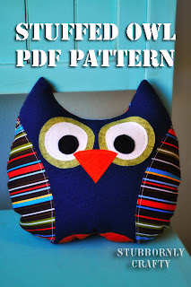 Stuffed Owl PDF Pattern