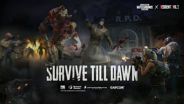 """PUBG Mobile and Resident Evil 2 Launch """"Zombie: Survive Till Dawn"""" Gameplay Mode - First Resident Evil Crossover With Mobile Game Launching Around The World"""