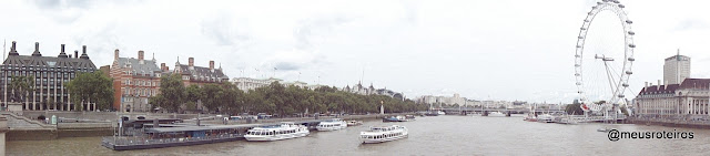Vista da Westminster Bridge - Londres