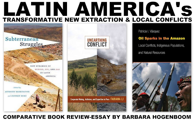 BOOK REVIEW | Latin America's Transformative New Extraction & Local Conflicts