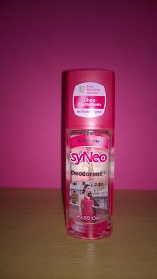 syNeo Aura Deodorant Passion.