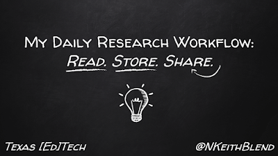 My Daily Research Workflow: Read. Store. Share.