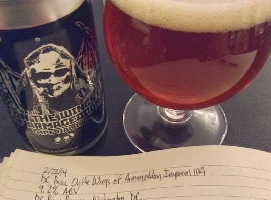 Review: DC Brau On the Wings of Armageddon Imperial IPA