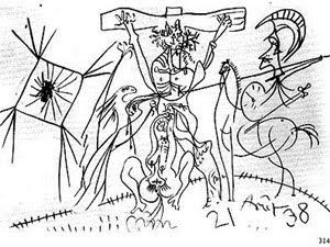 beobachtung des unsichtbaren 2010  picasso la crucifixion 1938