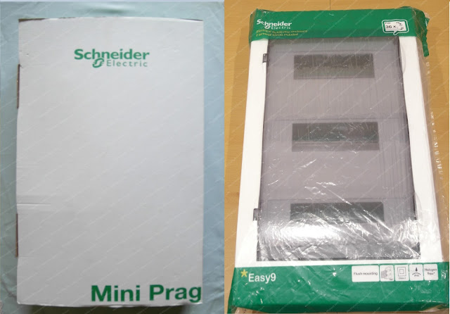 Щитки Easy9 Minipragma упаковка