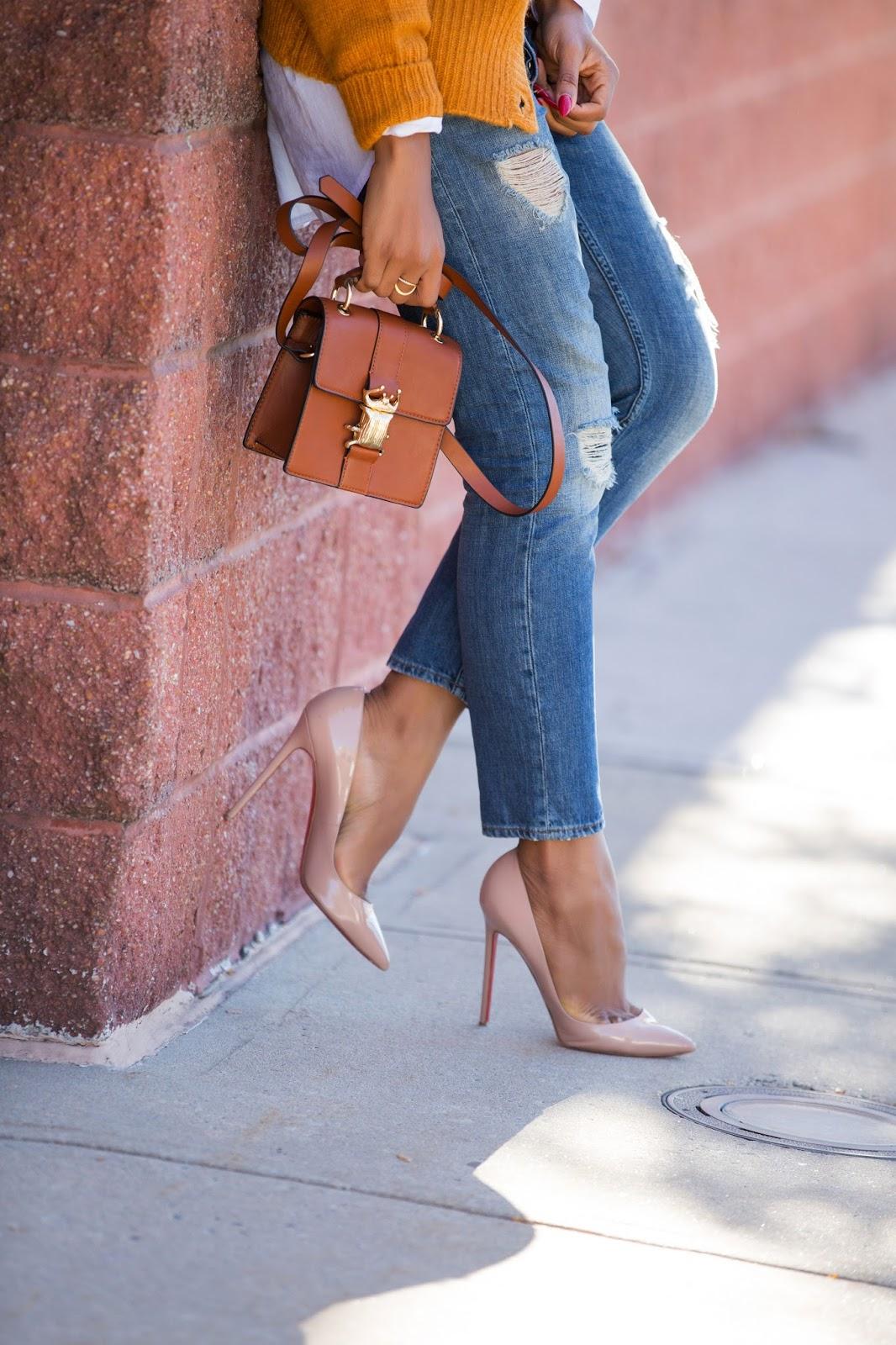 casual look in heels, www.jadore-fashion.com