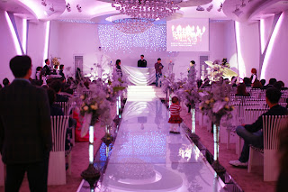 Korean wedding hall