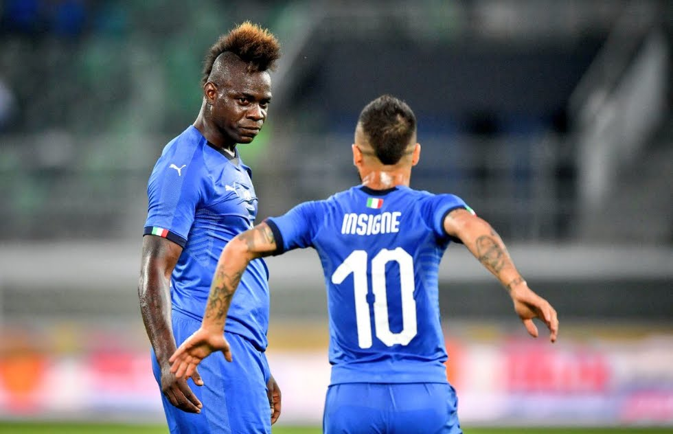 Italia-Arabia Saudita 2-1, vittoria all'esordio di Mancini con gol di Balotelli Belotti