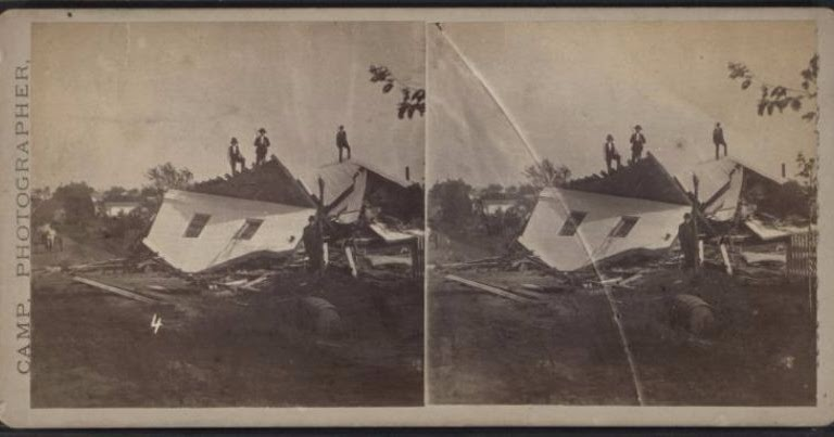 Vintage Everyday: World's Earliest Tornado Photos
