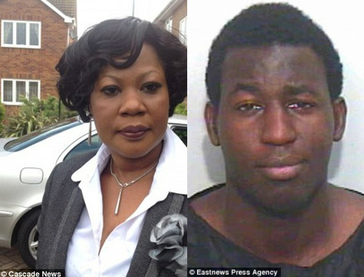 nigerian boy stabbed mother death essex